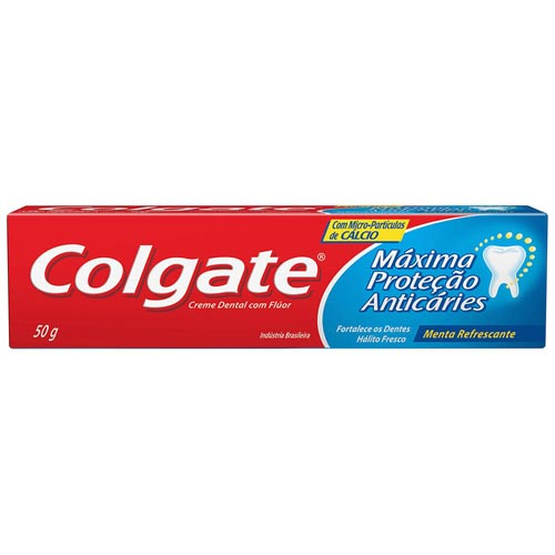 Creme Dental Colgate Máxima Proteção Anticáries 50g