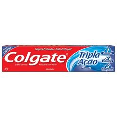 Creme Dental Colgate Tripla Ação Hortelã 90g
