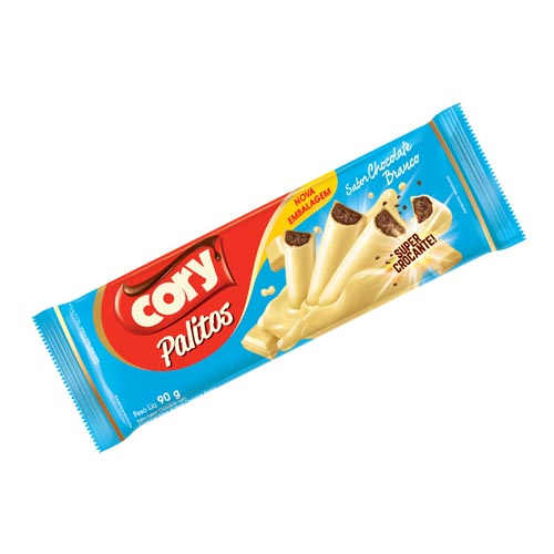 Palitos Cory Chocolate Branco 90g