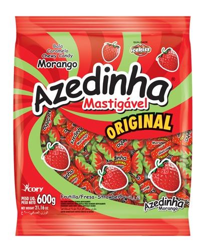Bala Azedinha Morango 600g