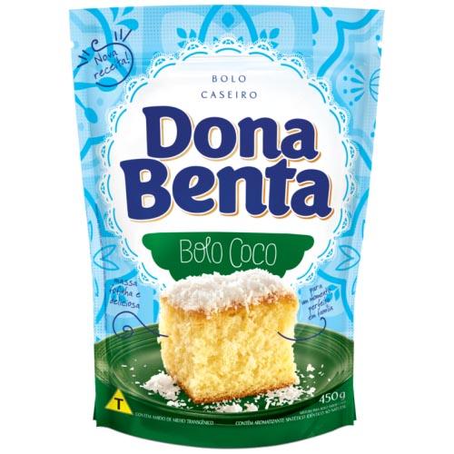 Mistura para Bolo Dona Benta Côco 450g