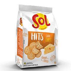 Biscoito Salgado Sol Hits Queijo 80g
