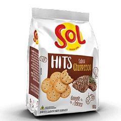 Biscoito Salgado Sol Hits Churrasco 80g