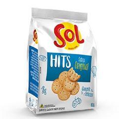 Biscoito Salgado Sol Hits Original 80g