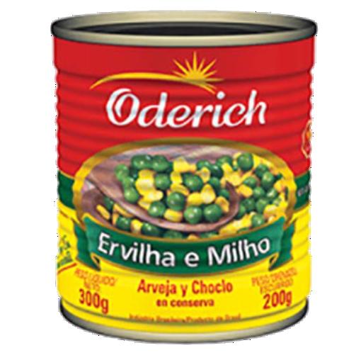 Ervilha e Milho Oderich Lata 200g