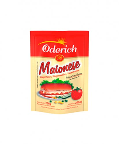 Maionese Oderich Stand Up 200g
