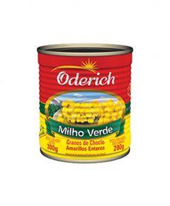 Milho Verde Oderich Lata 200g