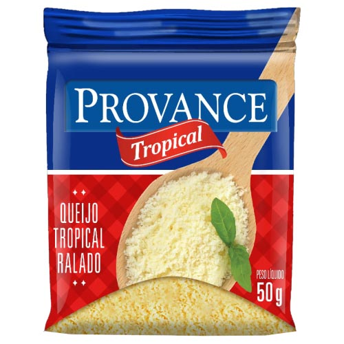 Queijo Ralado Provance Tropical 50g