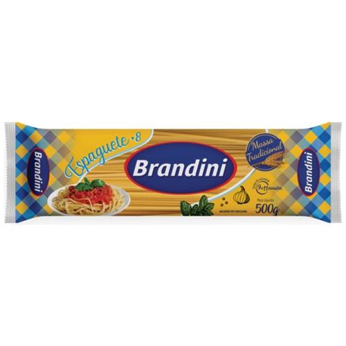 Macarrao Brandini Espaguete Comun n°8 500g
