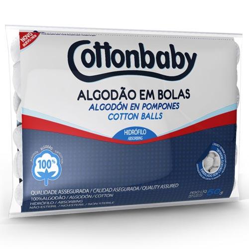 Algodão Bola Cottonbaby Branco 50g