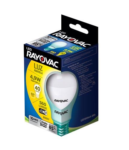 Lâmpada Rayovac LED Amarela 4,9W Bivolt