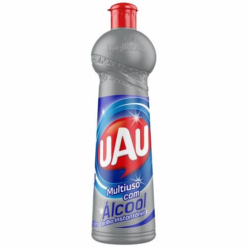 Multiuso Uau com Álcool 500ml