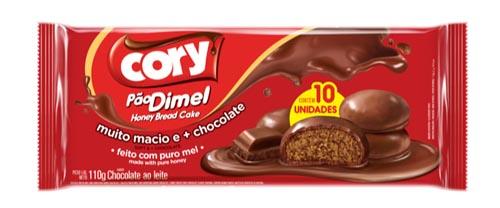 Pão Dimel Cory Chocolate ao Leite 110g