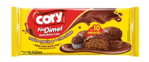 Pão Dimel Cory Brigadeiro 110g