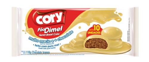 Pão Dimel Cory Chocolate Branco 110g