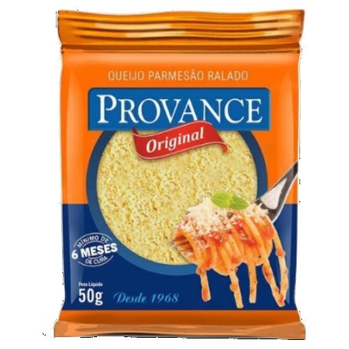Queijo Ralado Provance Original 100% Parmesão 50g