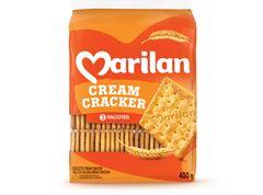 Biscoito Marilan Cracker Especial 400g com 3 und